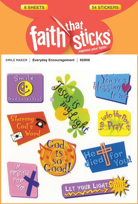 Everyday Encouragement - Faith That Sticks Stickers (Stickers)