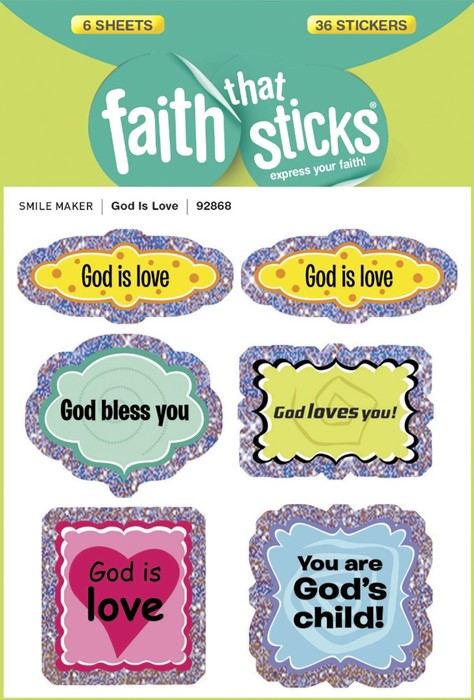 God Is Love (Stickers)