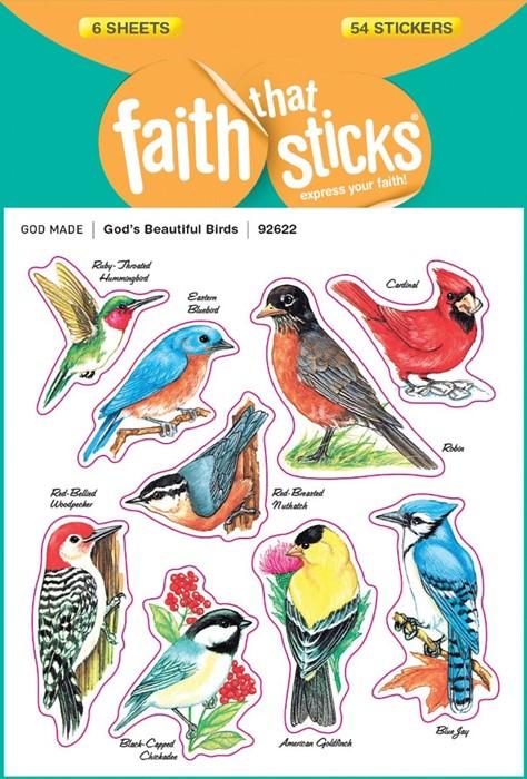 God's Beautiful Birds (Stickers)