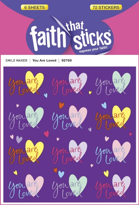 You Are Loved - Faith That Sticks Stickers (Stickers)