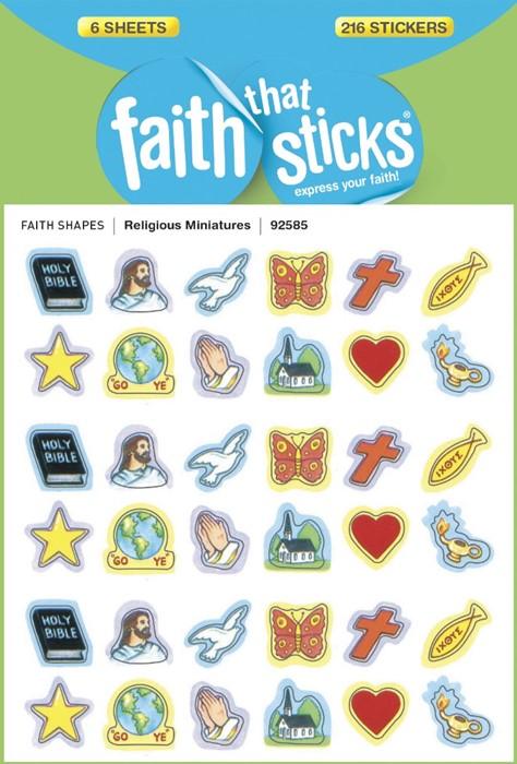 Religious Miniatures (Stickers)
