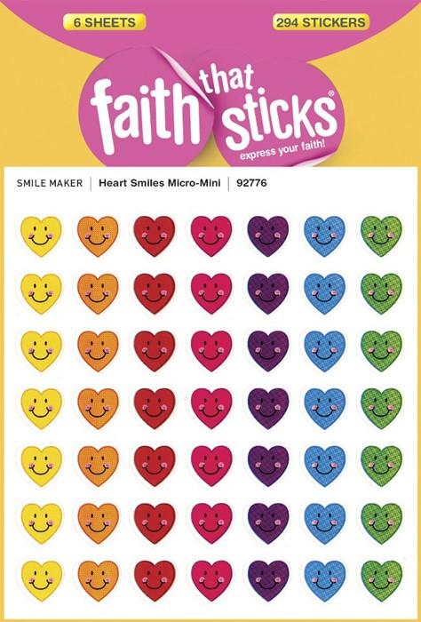 Heart Smiles Micro-Mini (Stickers)