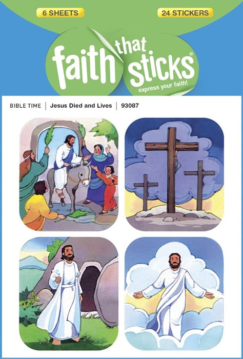 Jesus Died And Lives (Stickers)