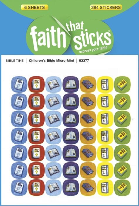 Children'S Bible Micro-Mini (Stickers)