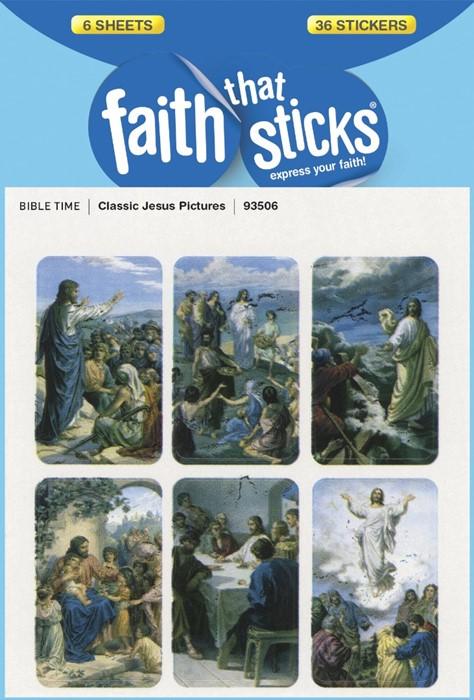 Classic Jesus Pictures (Stickers)