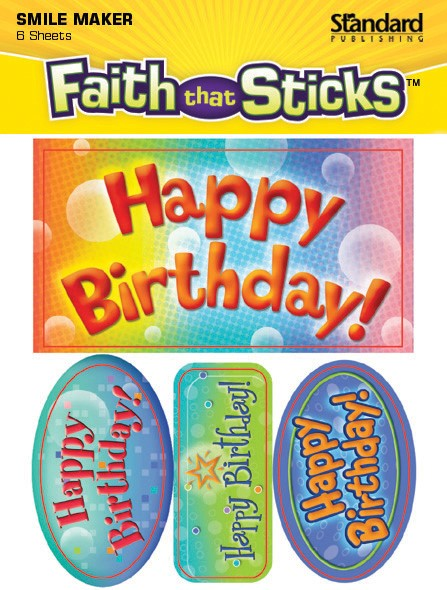 Happy Birthday! (Stickers)