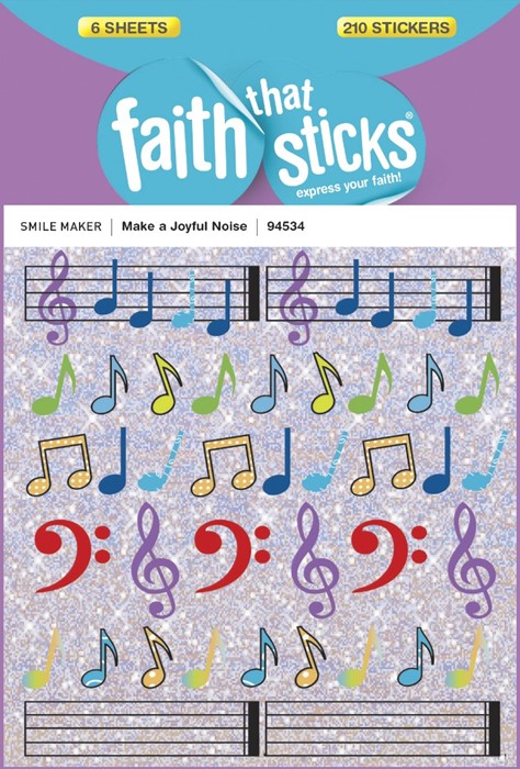 Make A Joyful Noise (Stickers)