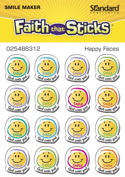 Happy Faces (Stickers)