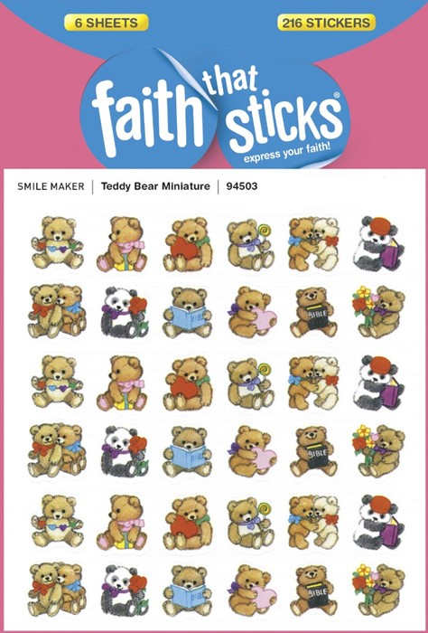 Teddy Bear Miniature (Stickers)
