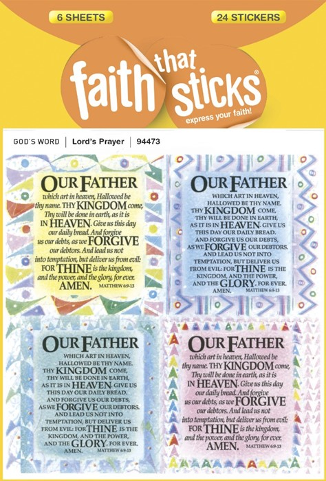 The Lord's Prayer (Stickers)