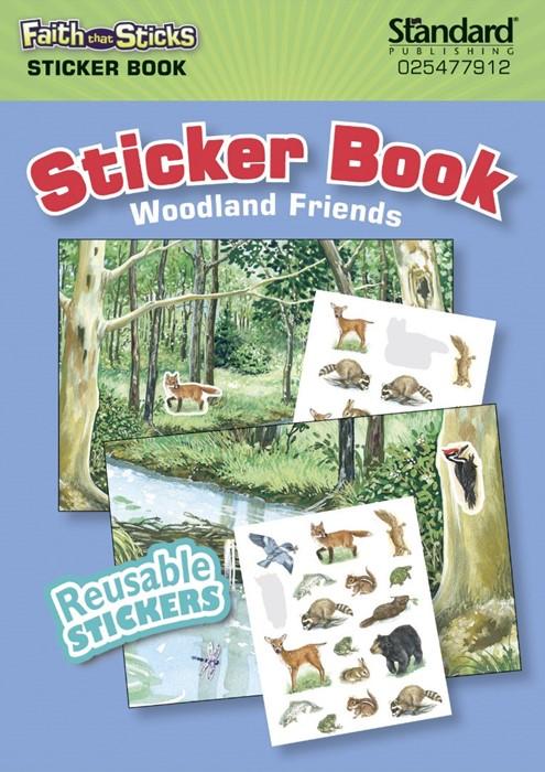 Woodland Friends Sticker Book (Paperback)