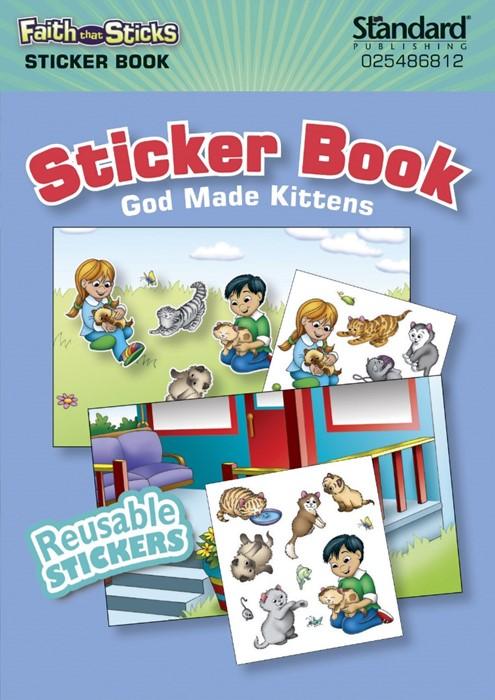 God Made Kittens Sticker Book (Paperback)