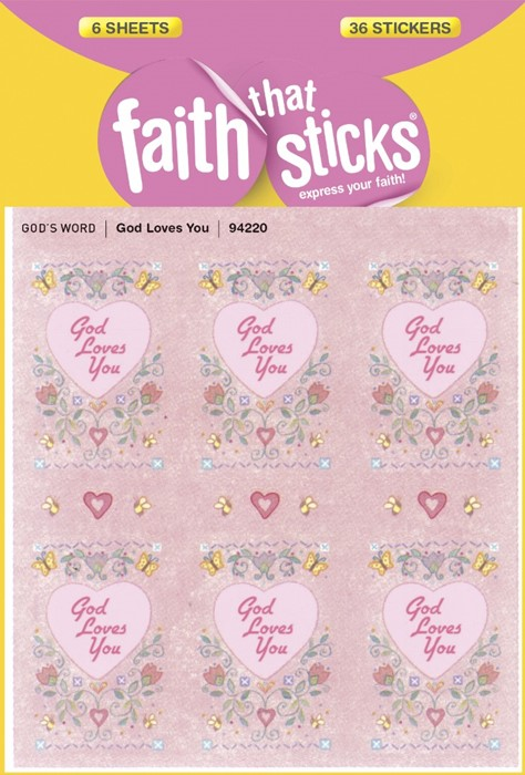 God Loves You (Stickers)