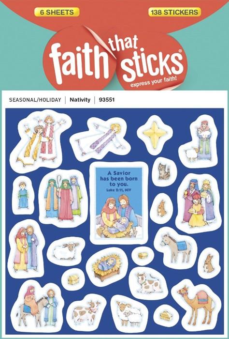 Nativity (Stickers)