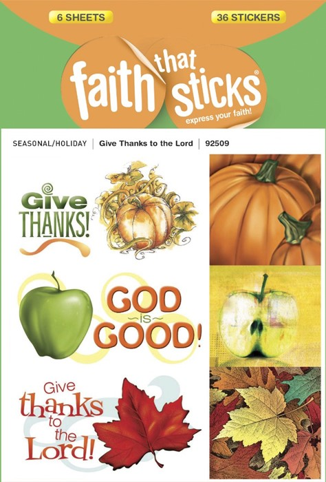 Give Thanks To The Lord (Stickers)
