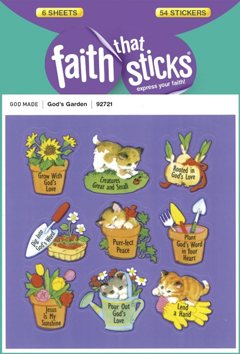 God's Garden (Stickers)