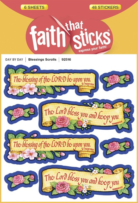 Blessings Scrolls (Stickers)