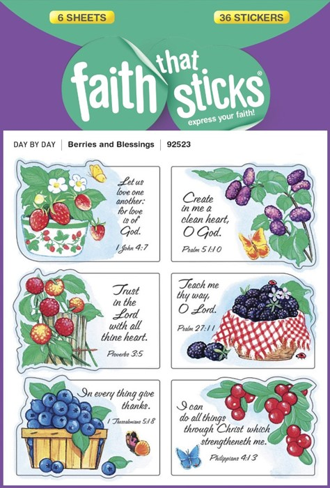 Berries And Blessings (Stickers)