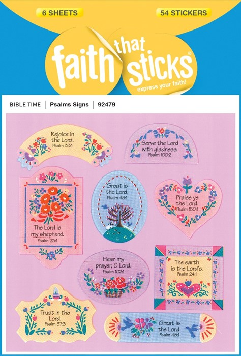 Psalms Signs (Stickers)