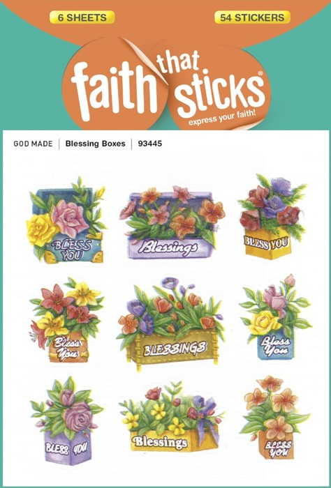Blessing Boxes (Stickers)