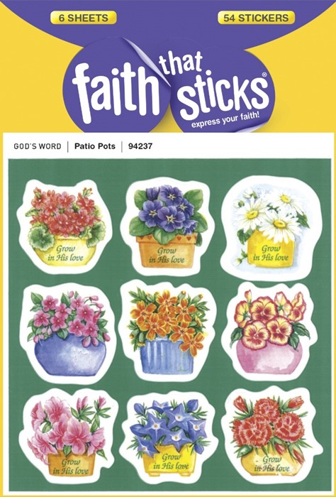 Patio Pots (Stickers)