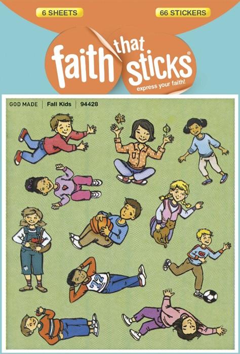 Fall Kids (Stickers)