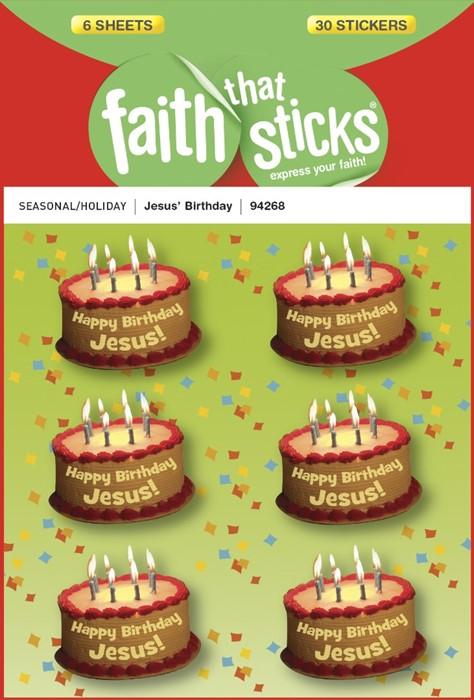 Jesus' Birthday (Stickers)