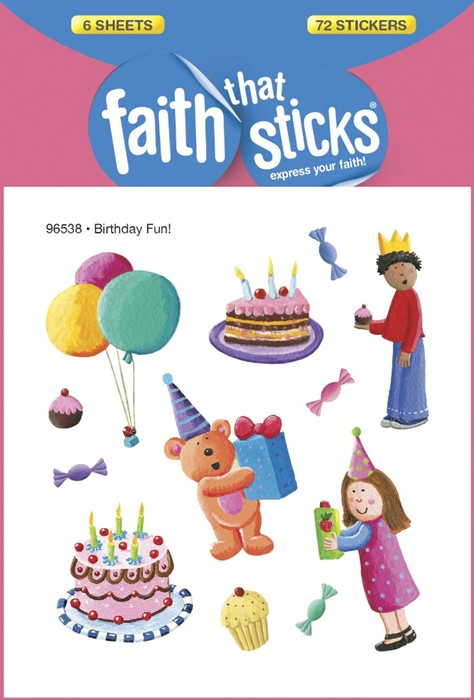 Birthday Fun! (Stickers)