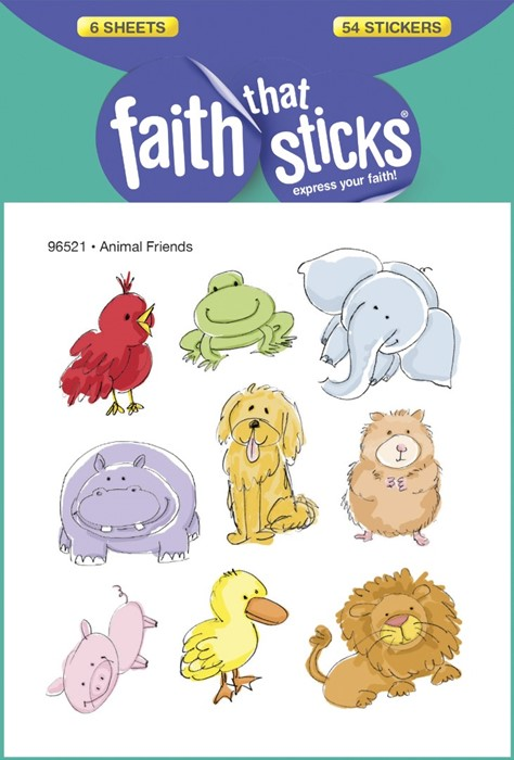 Animal Friends (Stickers)