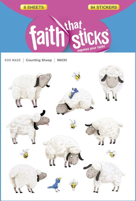 Counting Sheep (Stickers)