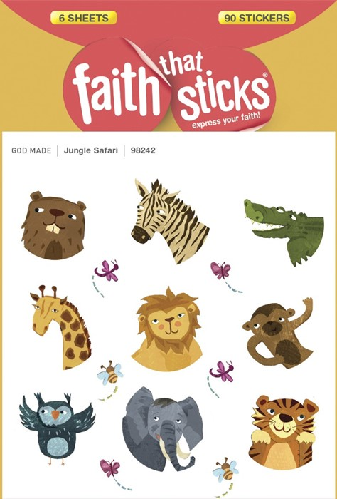 Jungle Safari Stickers (Stickers)