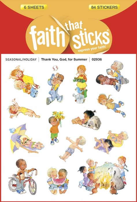 Thank You, God, For Summer (Stickers)
