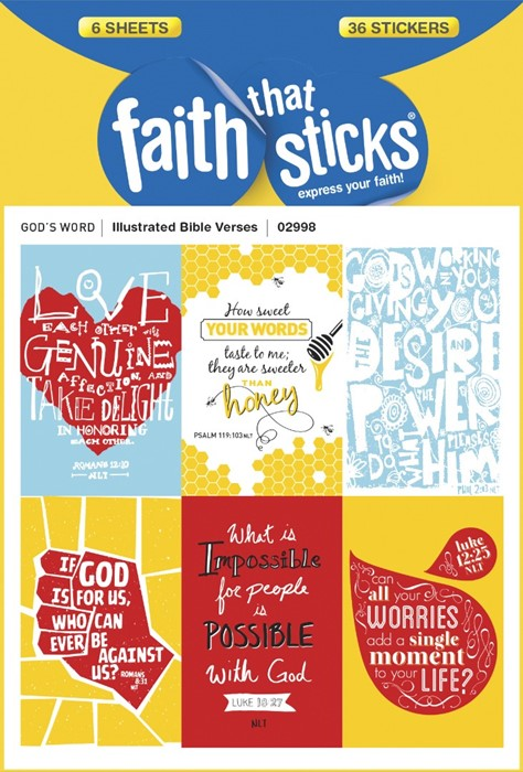 Illustrated Bible Verses (Stickers)