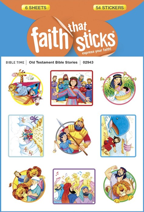 Old Testament Bible Stories (Stickers)