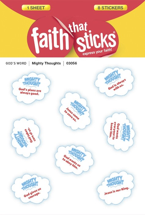 Mighty Thoughts (Stickers)