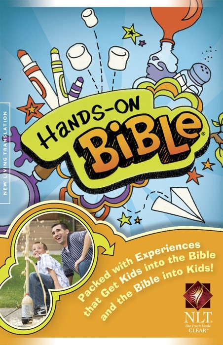 NLT Hands-On Bible (Hard Cover)