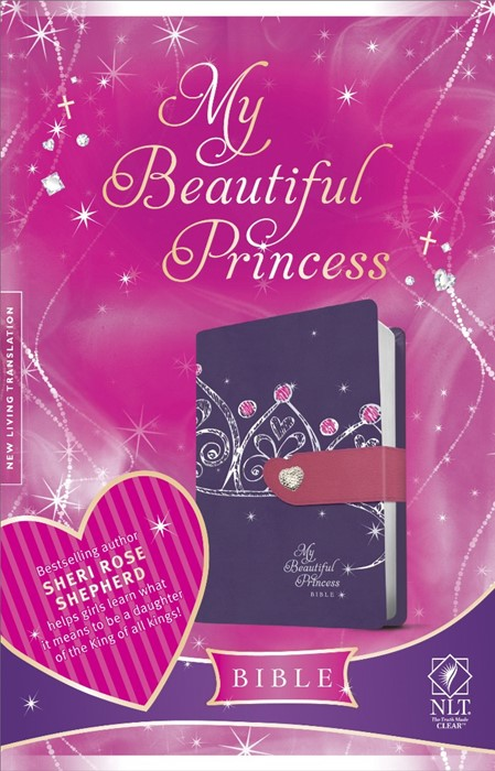 NLT My Beautiful Princess Bible (Imitation Leather)