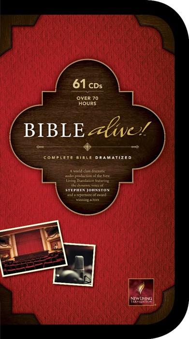 NLT Bible Alive! (CD-Audio)