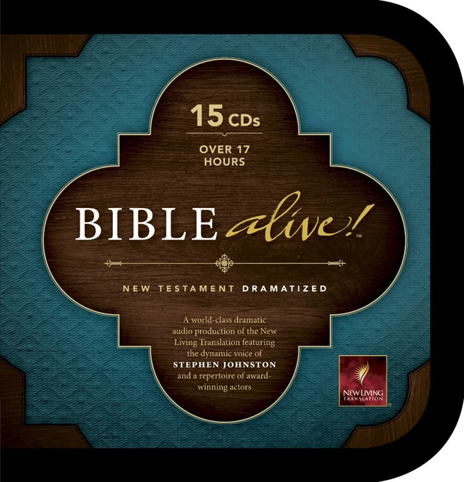 NLT Bible Alive! New Testament Audio CD Bible (CD-Audio)