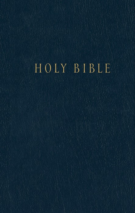 NLT Pew Bible, Navy (Hard Cover)