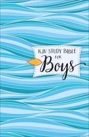 KJV Study Bible For Boys Hardcover (Hard Cover)