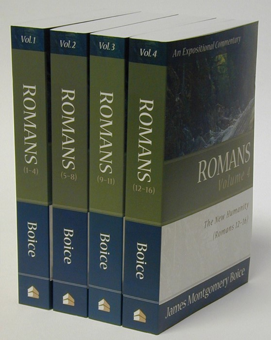 Romans: 4 Volumes (Paperback)