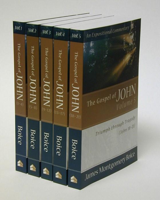 Gospel Of John, The: 5 Volumes (Paperback)