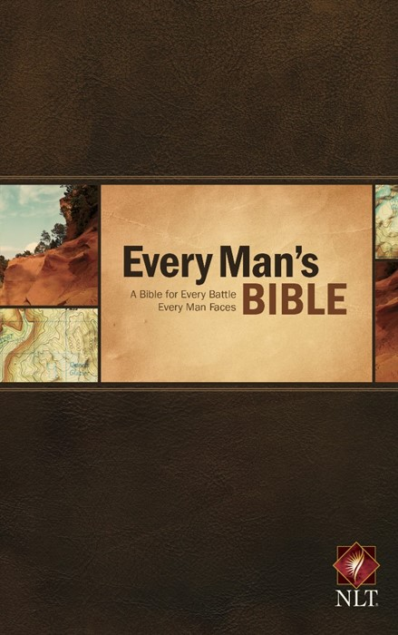 NLT Every Man's Bible (Hard Cover)