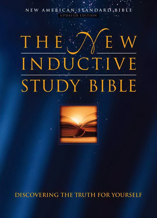 The New Inductive Study Bible (Hard Cover)