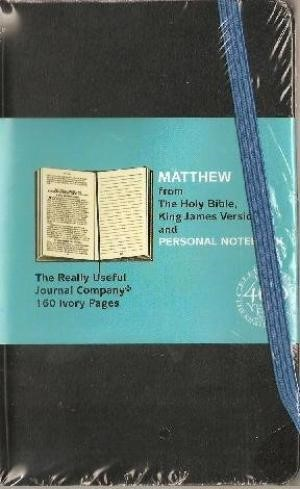 Kjv Gospel Matthew Journal Moleskin (Paperback)