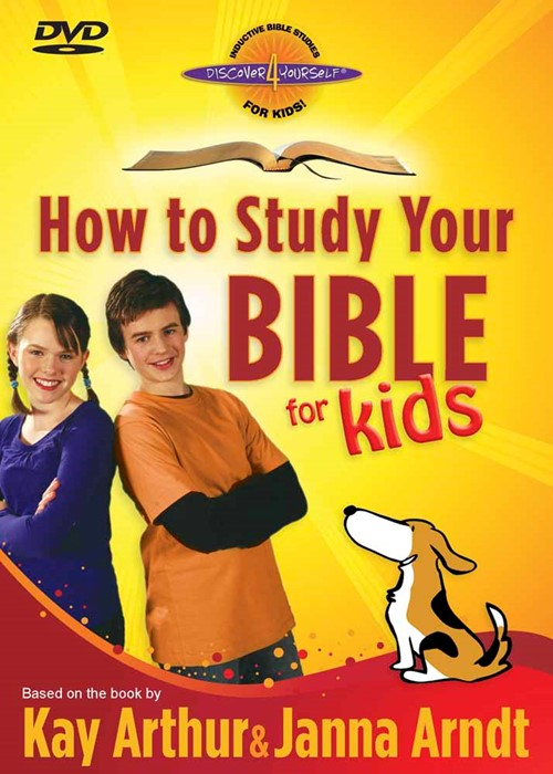 How To Study Your Bible For Kids DVD (DVD)