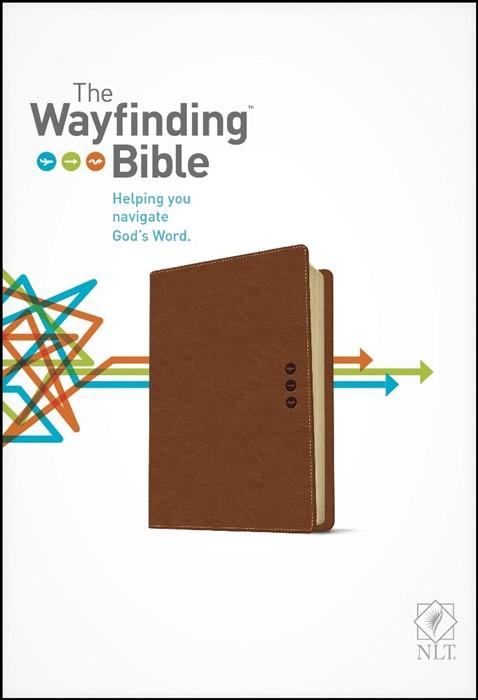 The NLT Wayfinding Bible Brown (Imitation Leather)