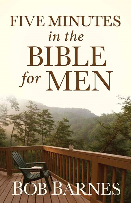 Five Minutes In The Bible For Men (Paperback)