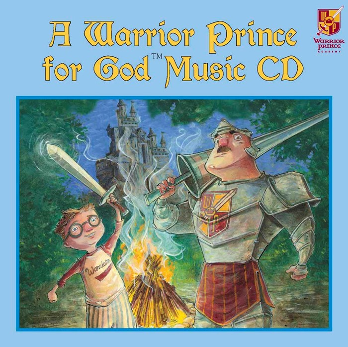 A Warrior Prince For God Music Cd (CD-Audio)